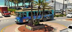Anna Maria Island Trolley is a great way to see the Island. Take the tour, and make your plans to get around with ease. Anna Maria Island, Anna Marias, Places To Go, Things To Do, Favorite Things, Coast, Florida, Vacation, Check