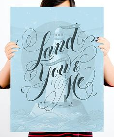 Marlene Silveira for HelpInk: This Land Print ($20)