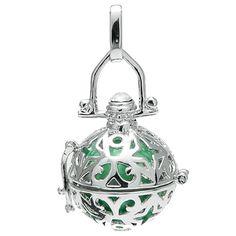 Klangkugel mint - Engelsflüsterer - inkl. 70 cm Halskette