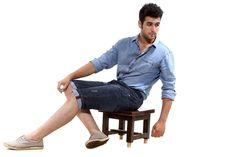 Semicollon Lightweight Denim Shorts  visit semicollon.com for more collection