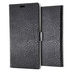 "TISHAA iPhone 6 Plus(5.5"") iPhone 6S Plus (5.5"") Case 3 Matches Colors PU Alligator Leather Protective Fit Pocket Case (Brown PU Leather) 
