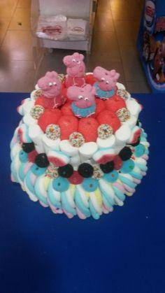 Duldi Ciudad Real ha hecho esta deliciosa tarta Peppa Pig.