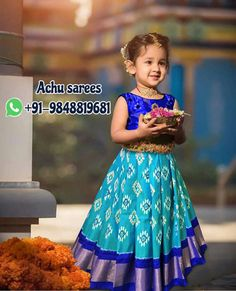 Baby fashion girl indian Ideas for 2019 Kids Party Wear Dresses, Kids Dress Wear, Kids Gown, Dresses Kids Girl, Kids Outfits, Baby Dresses, Kids Wear, Baby Lehenga, Kids Lehenga Choli