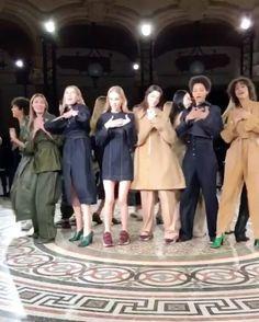 #ELLEshowtime  FAITH & LOVE 어김없이 비가 내린 파리의 월요일 아침. 조지 마이클의 #faith 를 부르는 모델들의 신나는 댄스 피날레를 선보인 #스텔라맥카트니  덕분에 긍정 에너지 충전 완료 @stellamccartney @barneysny  via ELLE KOREA MAGAZINE OFFICIAL INSTAGRAM - Fashion Campaigns  Haute Couture  Advertising  Editorial Photography  Magazine Cover Designs  Supermodels  Runway Models