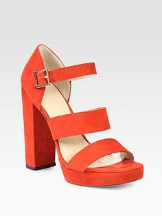 saks is having an amazing sale! for the perfect pop of color on your feet, we're dying for these x elizabeth and james