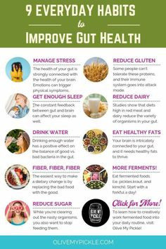 """You know your gut needs fixing, but where to start? If you've been asking yourself, """"How do I improve my gut health?"""" or """"How do I change my gut bacteria?"""" then stick around because we've got answer . Nutrition Tips, Health Diet, Health And Nutrition, Health And Wellness, Foods For Gut Health, Holistic Nutrition, Health Vitamins, Healthy Holistic Living, Health Recipes"""