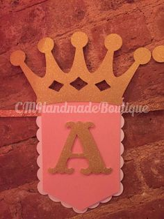 Glitter Princess Banner by CMHandmadeBoutique on Etsy 3rd Birthday Cakes, Happy Birthday Banners, 1st Birthday Parties, Birthday Decorations, Princess Theme Party, Baby Shower Princess, Princess Birthday, Happy Party, First Birthdays
