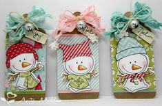 Just A Pigment Of My Imagination: Snowman Tags