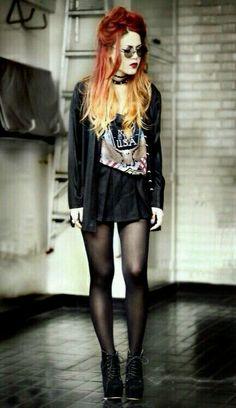Look grunge super fashion