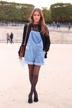 REINVENT YOURSELF: Paris Fashion Week SS 2013 - Street Style
