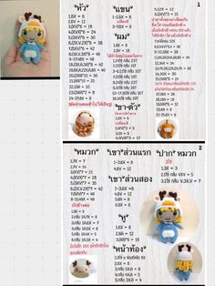 19 Ideas for crochet keychain doll gifts Crochet Doll Tutorial, Crochet Doll Pattern, Crochet Patterns Amigurumi, Amigurumi Doll, Crochet Dolls, Crochet Baby, Crochet Animal Patterns, Doily Patterns, Crochet Keychain