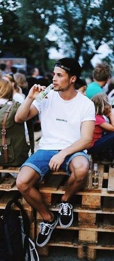 39 Men's Spring Casual Outfit Combination You Must Try Trendy Mens Fashion, Spring Fashion Casual, Fashion Fashion, Fashion Outfits, Spring Outfits, Fashion Ideas, Casual Summer, Casual Outfits, Fashion Trends