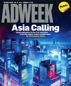 #Adweek cover - Feb. 11, 2013