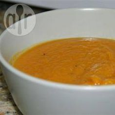 Roasted Butternut Squash Soup @ allrecipes.co.uk
