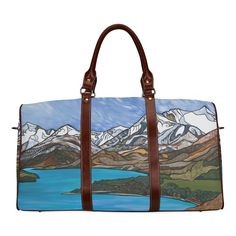 Lake Wakatipu Waterproof Travel Bag/Small (Model 1639)