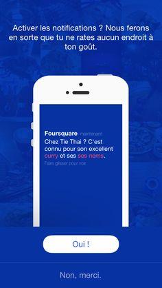 Promesse Foursquare - c'est noté
