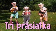 The Three Little Pigs (fairy tale) Three Little Pigs, Ronald Mcdonald, Fairy Tales, Baseball Cards, Youtube, Character, Decor, Decoration, Fairytail