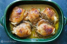 Baked Honey Mustard Chicken from Simply Recipes