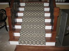 Why Are Stair Runners All So Cheesy From Stairs That Were