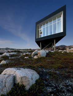 Long Studio, Fogo Island, 2008 http://bit.ly/IsMKbZ  by Saunders Architecture #architecture #archilovers #landscape #nature