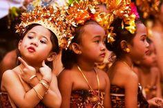 Adorable young dancers #Bali