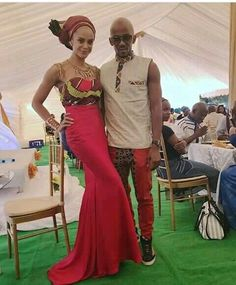 African Wear, African Attire, Traditional Wedding, Traditional Dresses, African Print Fashion, African Prints, Couple Outfits, Wedding Inspiration, Wedding Ideas