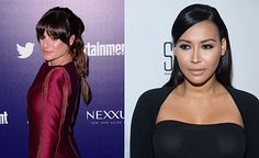 #NayaRivera reveals all in a new book that details the rivalry between fellow #Glee star #LeaMichele and herself.