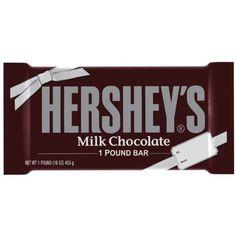 Hershey's Milk Chocolate Bar, 1-Pound - http://bestchocolateshop.com/hersheys-milk-chocolate-bar-1-pound/