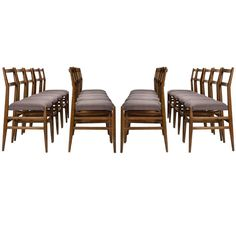 """Set of 20 """"Leggera"""" Dining Chairs by Gio Ponti for Cassina 