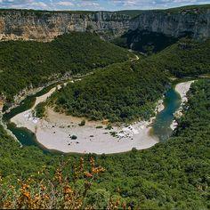 Gorges de l'Ardeche, Vallon-Pont-d'Arc, France