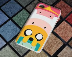 Adventure Time Characters Case for iPhone 4/4S iPhone 5/5S/5C and Samsung Galaxy S3/S4 on Etsy, $13.55