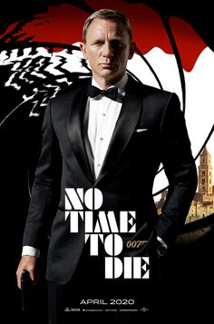 No Time to Die James Bond has left active service when his friend, the CIA officer Felix Leiter, enlists his help in the search for a missing scientist. Daniel Craig James Bond, New James Bond, James Bond Movie Posters, James Bond Movies, Nina Dobrev, Estilo James Bond, George Lazenby, Tv, Timothy Dalton