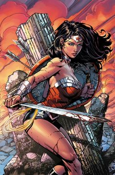 Wonder Woman: war-torn