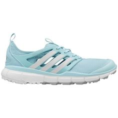 Adidas Women's Climacool II Clear Aqua/ White/ Silver Golf Shoes