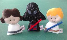 Coleção Star Wars pocket em feltro