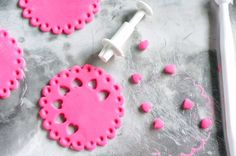 ho to make sugarpaste doilies