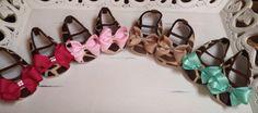 Giraffe Baby Crib Shoe's With SWAROVSKI Crystal's by RockkandyKids, $15.00