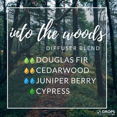 Try this woodsy diffuser blend for a nature feeling, indoors! #woods #nature #trees #wood #douglasfir #cedarwood #teamnatural #diffuser #essentialoils #diffuserblends #doterralove #the365life