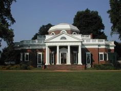 Monticello, a UNESCO World Heritage Site (the only U.S. presidential and private home on the list) « Thomas Jefferson's Monticello, his primary plantation
