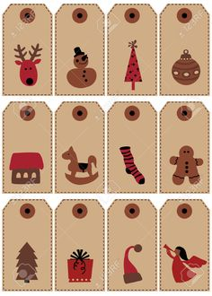 Christmas Tags Royalty Free Cliparts, Vectors, And Stock Illustration. Pic 3954737.