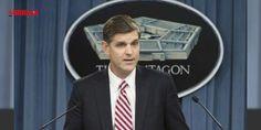 """Tel Abyad'taki ABD bayraklarına ABD'den açıklama: Peter Cook Pentagon'da düzenlediği basın toplantısında AA muhabirinin Rakka kentine bağlı Tel Abyad ilçesinde terör örgütü PYD militanlarının bulunduğu yerlere Amerikan bayrağı asılmasıyla ilgili sorusunu yanıtladı.Konuyla ilgili haberleri görmediğini belirten Cook """"Ancak daha önce de ortakları..."""