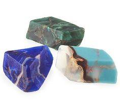 SoapRockettes Spirit 3pc Gemstone Soap Set