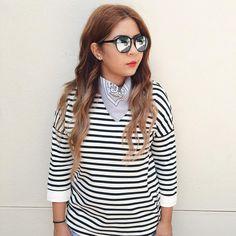 Bandana & Stripes OOTD