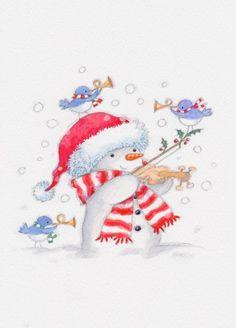 Annabel Spenceley - Musical Snowman