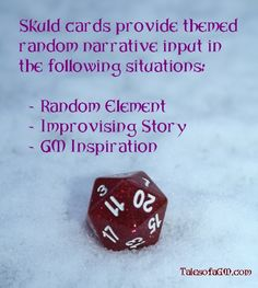 Improv Gaming part 10: Drawing Skuld. For more details, see my blog Tales of a GM.