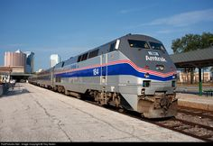 RailPictures.Net Photo: AMTK 184 Amtrak GE P42DC at Tampa, Florida by Troy Nolen