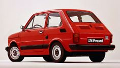 Fiat 126. Strange little rear engined car