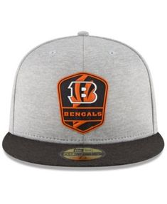 606bc131303 New Era Boys  Cincinnati Bengals Official Sideline Road 59FIFTY Fitted Cap  - Black 6 3 4