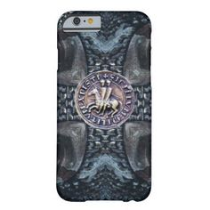 SEAL OF THE KNIGHTS TEMPLAR BARELY THERE iPhone 6 CASE