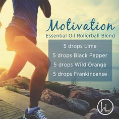 It's Sunday, get motivated, get outside, and get inspired. I find a lot of people want to be productive on Sundays, it helps start the week off right! Although it can be hard to stay motivated because we often dread the weekend ending. Give this blend a try to help keep the motivation going! It promotes confidence, energy, zest, creativity, encouragement, and motivation. You will love this! www.hayleyhobson.com
